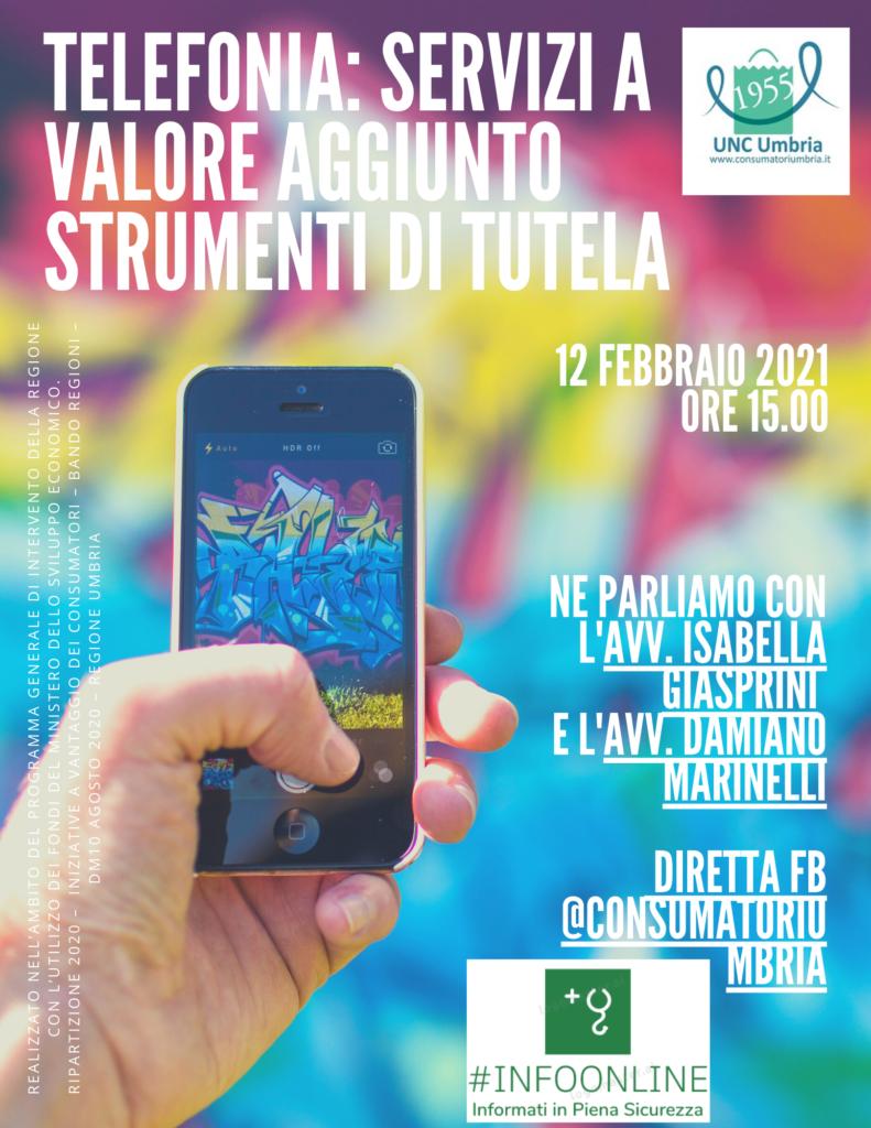 Unione Nazionale Consumatori Umbria | Telefonia: i servizi ...